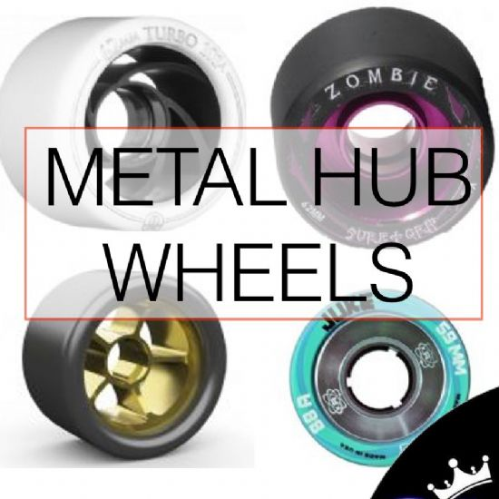 Metal hub wheels